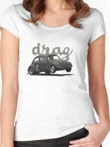Drag! Women's Fitted Scoop T-Shirt