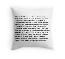 Wikipedia Throw Pillow