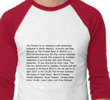 Wikipedia Men's Baseball ¾ T-Shirt