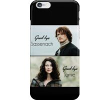 "Outlander - Claire x Jamie ""Goodbye.."" iPhone Case/Skin"