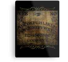 Ouija Board Horror Print Metal Print