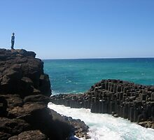 Rocks . Fingal Heads by MardiGCalero