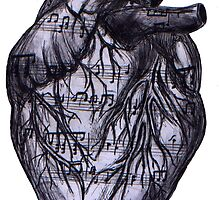 Music Comes From The Heart! by Teleri Rees
