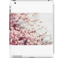 Spring Cherry blossoms, pink flowers. iPad Case/Skin