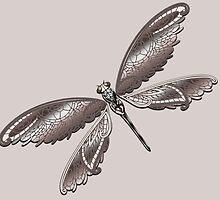 Dragonfly Lace by Sandy Strunk