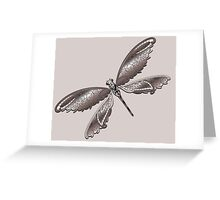 Dragonfly Lace Greeting Card