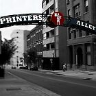 Printer's Alley by Karen  Helgesen