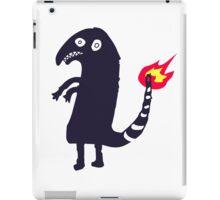 black charmander iPad Case/Skin