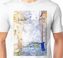 Laureana Cilento: trash cans blue Unisex T-Shirt