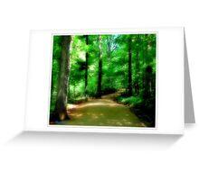 Trails Greeting Card