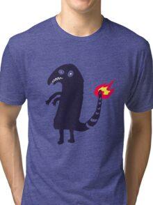 black charmander Tri-blend T-Shirt