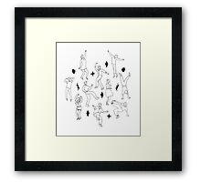 Dance Party Framed Print