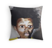BuckWheaT Throw Pillow