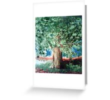 Ever clear Tree Greeting Card