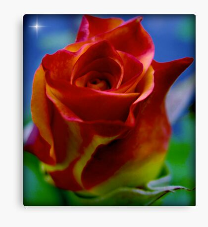 A Flower to a Daughter - LU...K Canvas Print