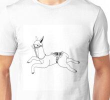 Llama Face Unisex T-Shirt