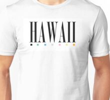 Hawaii Text Shirt Unisex T-Shirt