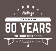 80th Birthday Gift by Alice Edwards