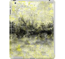 Yellow and Black Landscape iPad Case/Skin