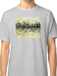 Yellow and Black Landscape Classic T-Shirt