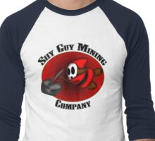 Shy Mining Men's Baseball ¾ T-Shirt