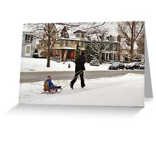 Go Daddy Go! Greeting Card