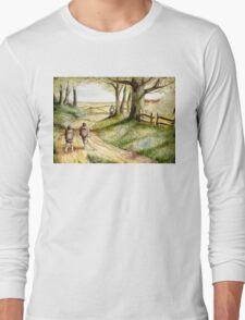 Three is Company Long Sleeve T-Shirt