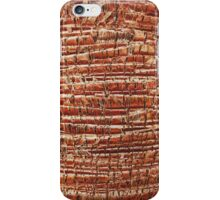 Palm tree bark texture iPhone Case/Skin