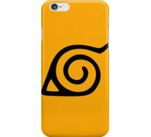 Naruto: Konoha Symbol iPhone Case/Skin