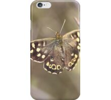 Speckled Wood Butterfly (Pararge aegeria)  iPhone Case/Skin