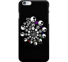 geometric heart design iPhone Case/Skin