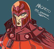 Magneto - Erik Lehnsherr by HuyHTran