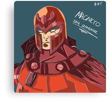 Magneto - Erik Lehnsherr Canvas Print