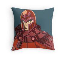 Magneto - Erik Lehnsherr Throw Pillow