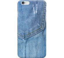 Jeans denim texture iPhone Case/Skin