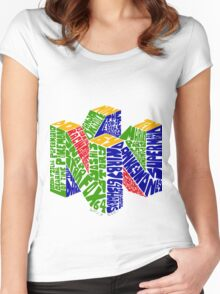 N64 Bits Women's Fitted Scoop T-Shirt