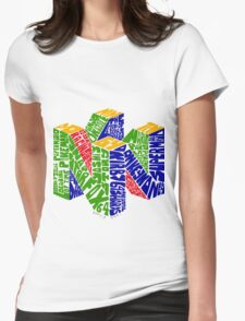 N64 Bits Womens Fitted T-Shirt