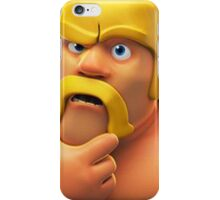 Barbarian Clash of Clans Art iPhone Case/Skin