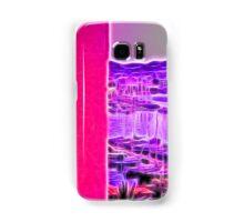 neon pink marina Samsung Galaxy Case/Skin
