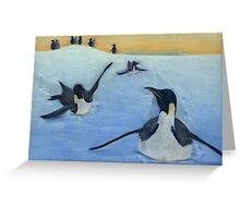 World Penguin Day Greeting Card