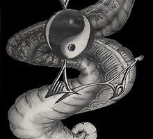yin yan by Legendbia