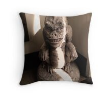 From the corner of the room Throw Pillow