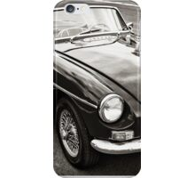 Black convertible MG iPhone Case/Skin