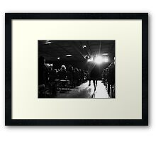 Save Beauty Framed Print