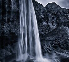 Blue Waterfall by Darren Brown