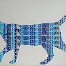 Blue Cat by Gary Hogben