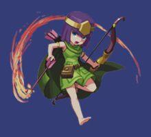 Archer Clash of Clans Draw Art by SXArtist