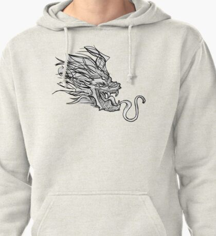 Dragon Doodle Pullover Hoodie