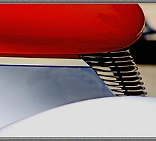 Street Rod Abstract by Chet  King