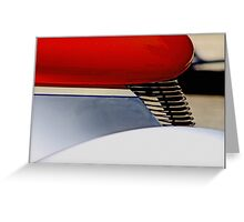 Street Rod Abstract Greeting Card